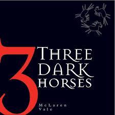 three dark horses logo
